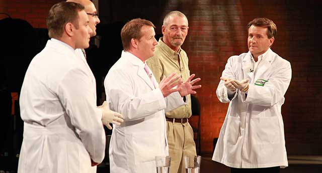 Jim on CBC's hit show Dragons' Den. Season finale 2012
