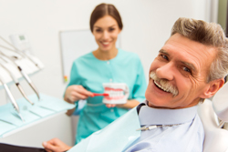 Dentist with Happy Patient